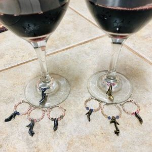 Other - High Heel Wine Markers